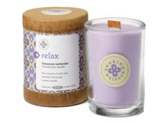 Root Scented Seeking Balance Relax Candle Geranium Lavender