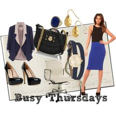 Busy Thursday's, created by theadminpost on Polyvore