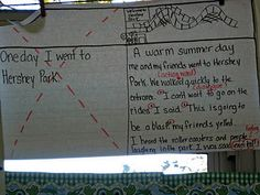 Lucy Calkins Units of Study Anchor Charts