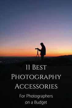 Photography can be an expensive hobby, but not every purchase has to break the bank!  There are plenty of potentially game changing photography accessories out there that are very affordable and offer everything from a gateway into a new photography genre to changing the way you carry your gear!   Here are 11 of the best photography accessories out there right now! #photography #photographytips #learnphotography #cameras #photographygear