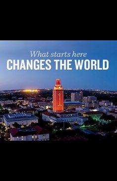 University of Texas at Austin  Hook em!