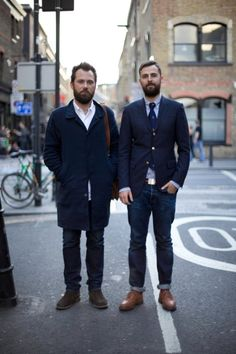*** Art Of Manliness, Men's Style, Blues, Men's Fashion, Suit Jacket, Breast, Suits, Lifestyle, Beards