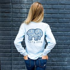 Pocketed Sky Blue Paisley $31.99