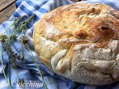 La Chicchina: Pane senza impasto o no knead bread (di Jim Lahey)...