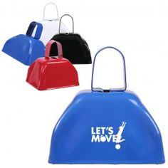 It's Football Season . . . get those players MOOOVVVING.  Small Basic Cow Bell (NM160)
