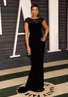 Jennifer Lopez Stuns In See-Through Gown At Vanity Fair Oscar Party