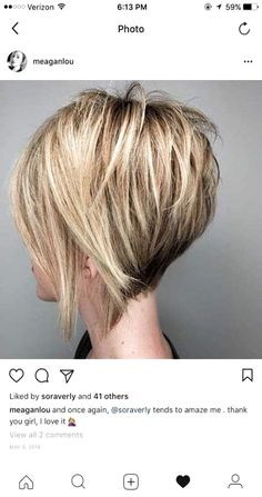 Short Graduated Bob Hair 2019 Trendfrisuren Chad, akkurater Mittelscheitel oder People from france Reduce Graduated Bob Hairstyles, Short Hairstyles For Thick Hair, Layered Bob Hairstyles, Hairstyles 2018, Short Graduated Bob, Short Inverted Bob, Graduated Hair, Weave Hairstyles, Wedding Hairstyles