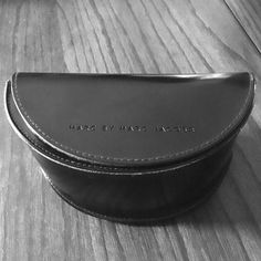 Marc by Marc Jacobs glasses case Great condition glasses case black on black with cleaning cloth.  Marc by Marc Jacobs Accessories Sunglasses