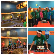 photo by @kristinmarieartrip Tyler's 28th bday at sky zone