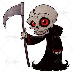 Little Grim Reaper - Monsters Characters http://graphicriver.net/item/little-grim-reaper/1069266?WT.ac=item_more_thumb&WT.seg_1=item_more_thumb&WT.z_author=fizzgig