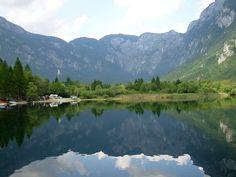 Bohinj Lake by Mirco Parmeggiani, via Flickr
