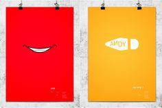 Posters minimalistas da Pixar.