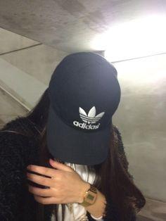 Adidas Cap Black Tumblr