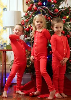 I want my children to have matching Christmas pyjamas FOREVER!