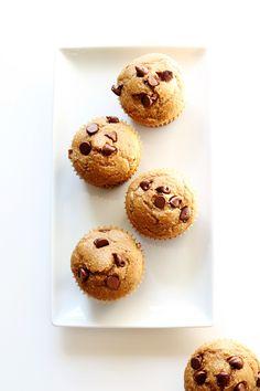 Healthy Gluten Free Banana Breakfast Muffins