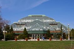 Lincoln Park Conservatory.