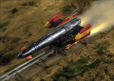 Fireball - A Day in the Life of a Space General 60s Tv Shows, Thunderbirds Are Go, Sci Fi Tv, Classic Sci Fi, Retro Futuristic, Kids Tv, Childhood Memories, Science Fiction, Super Cars