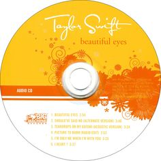 Does anybody own Beautiful Eyes as a CD? I've never ever seen it anywhere except for ITunes and I really wanna get a copy of it. If you don't have it, have you ever seen it in stores???