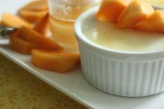 Yogurt Panna Cottas withHoney | via Tram Le, MS, RD, LD