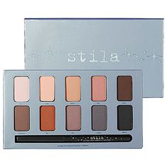 Come check out Stila's In the Know Eye Shadow Palette!  An array of gorgeous matte colors for fall!