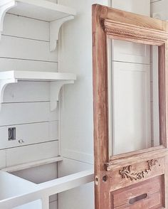 """299 Likes, 47 Comments - Whitetail Farmhouse (@whitetailfarmhouse) on Instagram: """"I never want to leave home or this laundry room! One of my favorite spaces, with great views and…"""""""