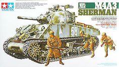 Tamiya 35251 US Medium Tank M4A3 Sherman w/105mm Howitzer 1/35 Scale Kit picclick.com