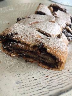 Kakaový / makový závin (po vegánsky) (fotorecept) Breakfast Dessert, Healthy Cookies, Strudel, Vegan Cake, Food And Drink, Desserts, Cakes, Tailgate Desserts, Deserts