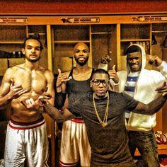 Chicago Bulls jaokim noah, taj gibson, nate robinson and jimmy butler I miss nasty Nate! Quality dude right there. Bulls Basketball, Basketball Players, Taj Gibson, Joakim Noah, Best Nba Players, Nate Robinson, Nba Chicago Bulls, Sport Icon, Derrick Rose