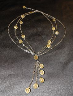 Neo Victorian style necklace by WearItAgainRetro on Etsy, $10.00