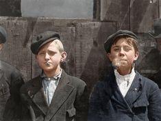 Paper boys, 1910