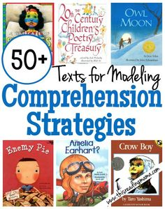 50+ Books for Modeling Comprehension Strategies