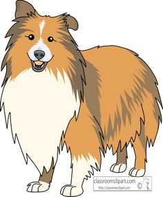 Search results for dogs pictures graphics cliparts - Clipartix Cartoon Dog, Cartoon Drawings, Cute Drawings, Rough Collie, Collie Dog, Chibi Dog, Smartest Dogs, Shetland Sheepdog, Dog Paintings