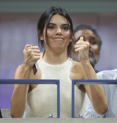 "msfts-style: ""  Kendall at the 2015 US open "" #KendallJenner"