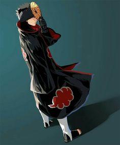 Uchiha Obito, Tobi, Akatsuki, mask; Naruto