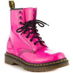 1460 W - Hot Pink Pat Lthr Dr Martens $129.99