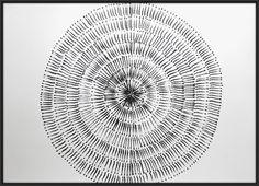 A1 Large Original Contemporary Black & White by Manjuzaka on Etsy