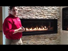 Napoleon Linear Gas Fireplace LHD50