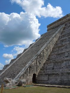 Chitzen Itza, Mexico - I hope to see this in person some day. You would have to be a complete fucking idiot to not want to climb to the top of this thing. I wish you still could climb it.