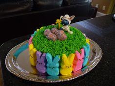 Mini Peeps Cake For The Kids