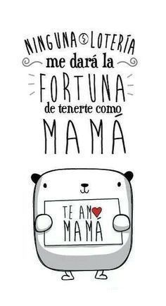 cortos para mamá - Harmonious Tutorial and Ideas Happy B Day, Happy Mothers Day, Love You Mom, My Love, Mr Wonderful, Mom Day, Mom Birthday, Mom Quotes, Gifts For Mom