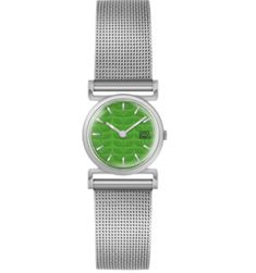 Signature Orla Kiely style, steel mesh strap with petal detail on the dial. Crafted with precision for a sophisticated and elegant style. Mesh Bracelet, Bracelet Watch, Bracelets, Orla Kiely Watch, Steel Mesh, Watch Sale, Discount Designer, Branding Design, Jewels