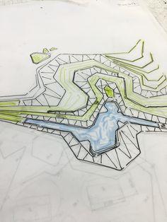 #landscape #design #sketch Doruk Görkem Özkan