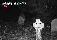Imagenes Sorprendentes de un Fantasma captado en un panteon   Naquisimo