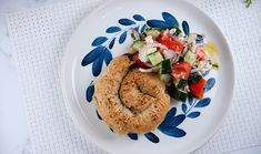 Everyday Gourmet   Beef, Spinach and Feta Coils