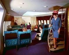 La première classe des avions dans les années 50 [Avion insolite Luxe Transport Voyage]