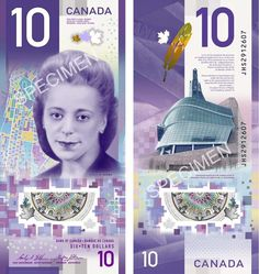 Nearly a decade before Rosa Parks's civil rights game-changer on a bus in Montgomery, Alabama, Viola Desmond made her stand by sitting down in Nova Scotia, Canada. Canadian Coins, I Am Canadian, Canadian History, Old Coins, Rare Coins, Nova Scotia, 10 Dollar Bill, Civil Rights Activists, True North