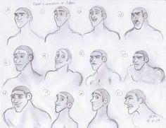 #Adam #Sketch #FacialExpressions #Biblical #BiblicalArt #BiblicalCharacter #BibleCharacter #Martin #Art #Book #Animation Biblical Art, Facial Expressions, Sketch, Animation, Books, Character, Face Expressions, Sketch Drawing, Libros