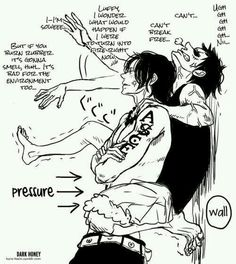 Wow, Ace is pissed off. At Luffy!