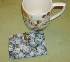 Tea Bag Wallet for the Golf Lover free shipping by AStitchinTime72, $8.00
