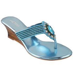 d000729cbd8 METRO 35-638 BLUE sandals for RS. 2290